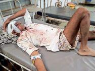 जैतपुर में खेत की मेढ़ को लेकर आपस में भिड़े ग्रामीण, 5 घायल|धौलपुर,Dholpur - Dainik Bhaskar
