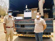 दौसा एसपी के प्रयासों से अमेरिका से आए 44 आक्सीजन कंसन्ट्रेटर, महिला समाजसेवी ने भी दिल्ली से भिजवाए चिकित्सा उपकरण|राजस्थान,Rajasthan - Dainik Bhaskar