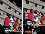 ભાજપના કોર્પોરેટરનો પતિ બર્થ-ડે પાર્ટીમાં જાહેરમાં બિયરની છોળો ઉડાડતા દેખાયો, પોલીસે અજાણ્યા લોકો સામે ગુનો નોંધ્યો અમદાવાદ,Ahmedabad - Divya Bhaskar