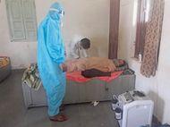 खीरवा में 28 दिन में 26 मौत; ग्रामीण बोले-20 लाख रुपए हम देंगे, सरकार गांव के सभी लोगों की जांच कराकर टीका लगाए|सीकर,Sikar - Dainik Bhaskar