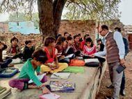 शिक्षक बाेले- एक शिक्षक के पास चार-चार प्रभार, रिजल्ट खराब हुआ तो विभाग जिम्मेदार|श्योपुर,Sheour - Dainik Bhaskar