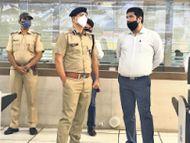 सड़कों पर लोगों की गलत भीड़ ने बढ़ाया संक्रमण का खतरा|जयपुर,Jaipur - Dainik Bhaskar
