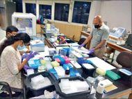 वर्क फ्रॉम होम न छुट्टी; वायरस पर ही काम, फिर भी 13 महीने से छू नहीं सका संक्रमण|देश,National - Dainik Bhaskar