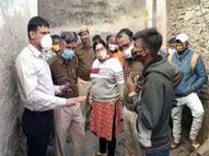 कैंची से वार कर युवक की हत्या, आरोपी फरार, पुलिस तलाश में जुटी अजमेर,Ajmer - Dainik Bhaskar