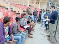 कॉपी पर लिखा खुली जेल का सबक; मास्क न पहनकर जै गलती मैंने की है, वाे काेऊ न करै|ग्वालियर,Gwalior - Dainik Bhaskar