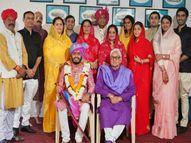 MP की दौलतपुर रियासत को 24 साल बाद जयपुर से मिला नया महाराज; नाती को राजमाता ने लिया गोद|जयपुर,Jaipur - Dainik Bhaskar