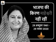 निधन के बाद उदयपुर लाया गया पार्थिव शरीर, कल कोरोना प्रोटोकॉल के तहत होगा अंतिम संस्कार|जयपुर,Jaipur - Dainik Bhaskar