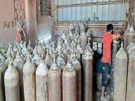 एसएमएस में लोकल ऑक्सीजन प्लांट भेजा, जांच में पता चला|जयपुर,Jaipur - Dainik Bhaskar
