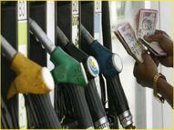 पेट्रोल की कीमतें 25 महीने के ऊपरी स्तर पर पहुंचीं, 10 दिन में 1.28 रुपए बढ़ी|इकोनॉमी,Economy - Money Bhaskar