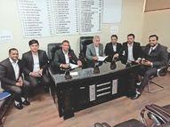 आज से तीसरी मंजिल की कनेक्टिविटी केवल वकीलों के लिए दो घंटे के लिए खोली जाएगी|पानीपत,Panipat - Dainik Bhaskar