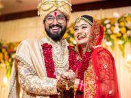 सचेत ने परंपरा से रचाई शादी, बोले-'मैंने कभी नहीं सोचा था किहम एक होने के लिए बने हैं'|बॉलीवुड,Bollywood - Dainik Bhaskar