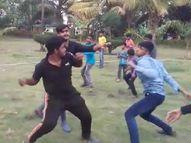 औरंगाबाद में लड़की के विवाद में पार्क में भिड़े छात्रों के दो गुट, जमकर चले लात-घूंसे और डंडे|महाराष्ट्र,Maharashtra - Dainik Bhaskar