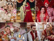 जब सामने आईं सेलेब्स की शादी की तस्वीरें, प्रियंका चोपड़ा से लेकर दीपिका पादुकोण तक ऐसी थी सेलेब्स की पहली झलक|बॉलीवुड,Bollywood - Dainik Bhaskar