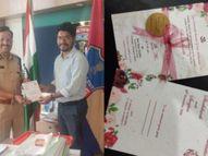 तेलंगाना के शशिकांत ने अपनी शादी के लिए छपवाए ईको फ्रेंडली वेडिंग कार्ड, इस अनोखी पहल से किया पर्यावरण बचाने का प्रयास|लाइफस्टाइल,Lifestyle - Dainik Bhaskar