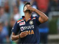 तेज गेंदबाज ने कहा- भारत के लिए खेलना सपना पूरा होने जैसा; तीसरे वनडे की जीत में निभाई थी अहम भूमिका|क्रिकेट,Cricket - Dainik Bhaskar