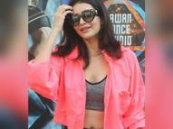 डांस क्लास के बाहर बोल्ड लुक में नजर आईं करिश्मा तन्ना|बॉलीवुड,Bollywood - Dainik Bhaskar