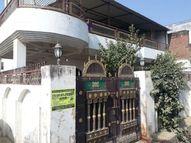 माफिया अतीक के राइट हैंड असलम के घर पर चला बुल्डोजर; बिना नक्शा पास कराए हुआ था निर्माण इलाहाबाद,Allahabad - Dainik Bhaskar
