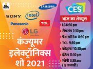 आज से शुरू हो रहा दुनिया का सबसे बड़ा इलेक्ट्रॉनिक्स शो, LG मुड़ने वाला टीवी करेगी लॉन्च|टेक,Tech - Dainik Bhaskar