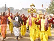 कोरोना रिपोर्ट निगेटिव आने पर ही मिलेगी देश के सबसे बड़े मेले में एंट्री, इस बार 45 दिन का कल्पवास इलाहाबाद,Allahabad - Dainik Bhaskar