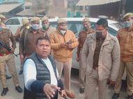 चावल व्यापारी से बदमाशों ने 15.90 लाख लूटे, फायरिंग कर मचाई दहशत इलाहाबाद,Allahabad - Dainik Bhaskar
