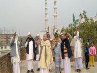 वाराणसी में मुस्लिम भाइयों ने पतंग उड़ाकर दुनिया के सामने पेश किया मिसाल, बोले- बाबा विश्वनाथ की नगरी से जायेगा संदेश वाराणसी,Varanasi - Dainik Bhaskar
