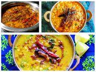 मक्खनी दाल तड़के के लिए मसाले के साथ थोड़ी शक्कर मिलाएं, सांभर दाल तड़के में इमली के पल्प से मिलेगा नया टेस्ट लाइफस्टाइल,Lifestyle - Dainik Bhaskar
