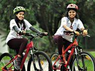 केरल की दो सहेलियों ने साइकिल से की 17 टूरिस्ट डेस्टिनेशन की सैर, इस सफर से दिया टूरिज्म को बढ़ाना देने का संदेश लाइफस्टाइल,Lifestyle - Dainik Bhaskar