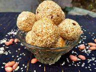 तिल-गुड़ के लड्डू खाएं तो सुबह बिस्किट न लें और डाइट में आधी रोटी कम करें; यह कैल्शियम और आयरन की कमी पूरी करता है लाइफ & साइंस,Happy Life - Dainik Bhaskar