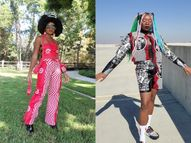 22 वर्षीय एरियल ने शॉपिंग बैग से बनाएं हाई फैशन आउटफिट्स, एक सहेली के साथ मजाक करते हुए आया ये आइडिया लाइफस्टाइल,Lifestyle - Dainik Bhaskar