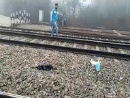 सोनीपत में एक्सप्रेस ट्रेन के आगे कूदकर युवक ने दी जान; जेब से मिला सुसाइड नोट, दो को ठहराया जिम्मेदार सोनीपत,Sonipat - Dainik Bhaskar