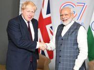 ब्रिटेन के प्रधानमंत्री ने मोदी को इनवाइट किया, इससे पहले बोरिस जॉनसन खुद भारत आएंगे|विदेश,International - Dainik Bhaskar