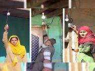 डोडा जिले के एक गांव में पहली बार बिजली पहुंची, LG के आदेश पर प्रशासन ने रिकॉर्ड 10 दिन में सप्लाई शुरू की|देश,National - Dainik Bhaskar