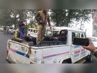दो घंटे की गोलीबारी के बाद 4 बदमाश धरे गए, एक की संदिग्ध हालात में मौत; 2 दिन में की थी 7 लूट|देश,National - Dainik Bhaskar