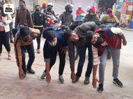 राजस्थान और दिल्ली में 9वीं से 12वीं तक के छात्रों की एंट्री, एक-दूसरे से बोले- तेरी तो शक्ल ही बदल गई|राजस्थान,Rajasthan - Dainik Bhaskar