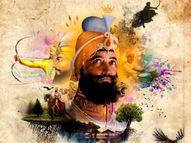 दशमेश पिता गोविंद सिंह ने ही आदिग्रंथ साहिब को दी थी गुरु की गद्दी|धर्म,Dharm - Dainik Bhaskar