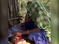 बांसवाड़ा के जिस गांव में रहते हैं वहां पानी नहीं, इसलिए खेती छोड़कर मजदूरी करने सूरत गया था परिवार|बांसवाड़ा,Banswara - Dainik Bhaskar