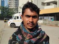 कुछ समझ आता इससे पहले डंपर ने सभी को कुचल दिया; मैं 25 फीट दूर सोया था, इसलिए बच गया|गुजरात,Gujarat - Dainik Bhaskar