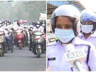 भुवनेश्वर में आल वुमन स्कूटर रैली का हुआ आयोजन, महिलाओं ने दिया यातायात के नियमों का पालन करने और हेलमेट लगाने का संदेश|लाइफस्टाइल,Lifestyle - Dainik Bhaskar