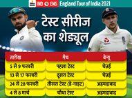 इंग्लैंड टेस्ट सीरीज में वापसी कर सकते हैं विराट और ईशांत; बुमराह और अश्विन की फिटनेस पर अब भी सस्पेंस|क्रिकेट,Cricket - Dainik Bhaskar