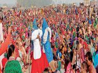महिला किसानों ने मंच से लेकर पंडाल तक में संभाली जिम्मेदारी, खेती बचाने की कह टोल प्लाजा व दिल्ली के बॉर्डरों पर डाला डेरा सोनीपत,Sonipat - Dainik Bhaskar