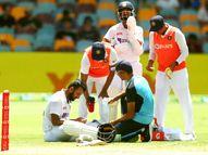 भारत का तीसरा विकेट गिरा; शुभमन के बाद रहाणे भी पवेलियन लौटे, पुजारा चोटिल होने से बचे|क्रिकेट,Cricket - Dainik Bhaskar