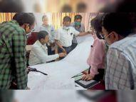 डीआरएम बोले- सालभर में पूरा होगा खंडवा-ओंकारेश्वर ब्रॉडगेज ट्रैक कन्वर्जन|खंडवा,Khandwa - Dainik Bhaskar
