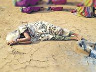 अब न रोजगार रहा, न परिवार, भगतपुरा में एक ही परिवार के 5, गराड़खोरा के 4 की मौत|बांसवाड़ा,Banswara - Dainik Bhaskar