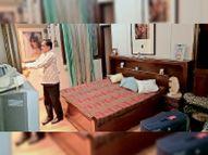 मनाेरम नगर में हार्डकोक व्यवसायी के घर डाका, केयरटेकर व दाई को बंधक बनाकर लूटी संपत्ति; घटना के वक्त गुजरात में थे व्यवसायी|धनबाद,Dhanbad - Dainik Bhaskar