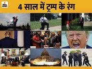 ट्रम्प बोले- बिना किसी युद्ध के दशक का पहला राष्ट्रपति होने पर गर्व, नई सरकार को शुभकामनाएं|विदेश,International - Dainik Bhaskar
