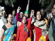 ओडिशा के किसान लखनऊ के रास्ते जाना चाहते थे दिल्ली, वाराणसी में पुलिस ने रोका, फिर जौनपुर के रास्ते भेजा वाराणसी,Varanasi - Dainik Bhaskar