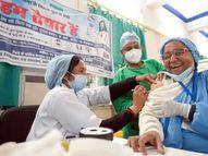 किसी भी वैक्सीन से साइड इफेक्ट के 5-10% मामले सामान्य बात, कोरोना में यह सबसे कम 0.18%|वैक्सीन ट्रैकर,Coronavirus - Dainik Bhaskar