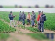 रघुनाथपुर के राजपुर दियारा की 6 एकड़ भूमि पर बांध व चेकडैम बनाने पर विमर्श|रघुनाथपुर,Raghunathpur - Dainik Bhaskar