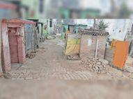 वार्ड नं 44 कहने को नगर निगम का क्षेत्र पर सुविधा पंचायत जैसी भी नहीं, लोग कोस रहे|बेगूसराय,Begusarai - Dainik Bhaskar