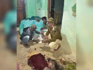 छोटे ने बड़े भाई पर टांगी से किया हमला, मौत|रायगढ़,Raigarh - Dainik Bhaskar